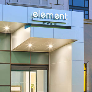 Hotel Bedding Used At Element Hotels By Westin By DOWNLITEa