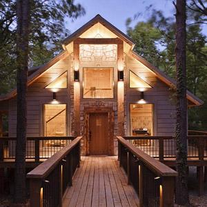 Hidden Hill Cabins Bedding By DOWNLITE