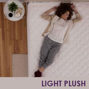 Light Plush Mattress Pad