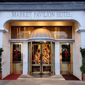 Market Pavilion Hotel Bedding By DOWNLITE