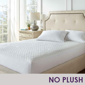 No Plush Mattress Protector Only