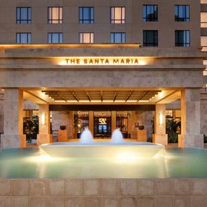 The Santa Maria Hotel & Golf Resort Bedding
