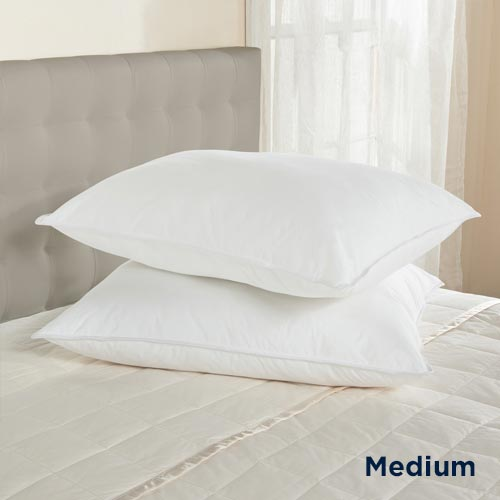 Downlite 230 TC 50/50 Down & Feather Blend Hotel Style Pillow