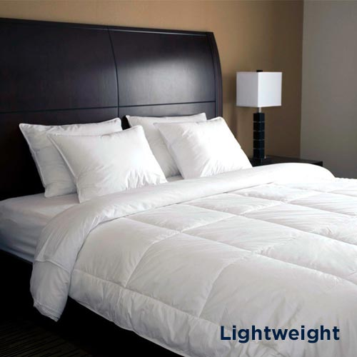 Downlite EnviroLoft® Lightweight 230 TC Hotel Style Down Alternative Blanket