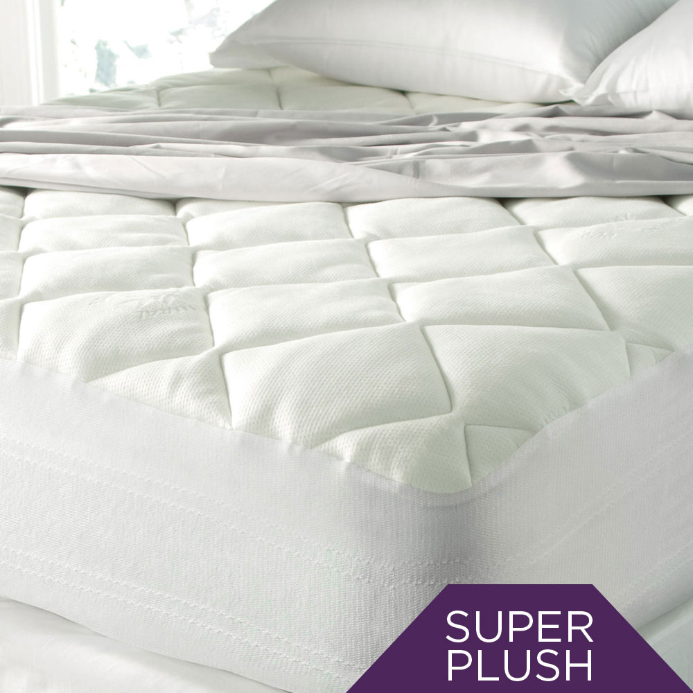 SPA LUXE® Cool Touch Bamboo Top Mattress Pad