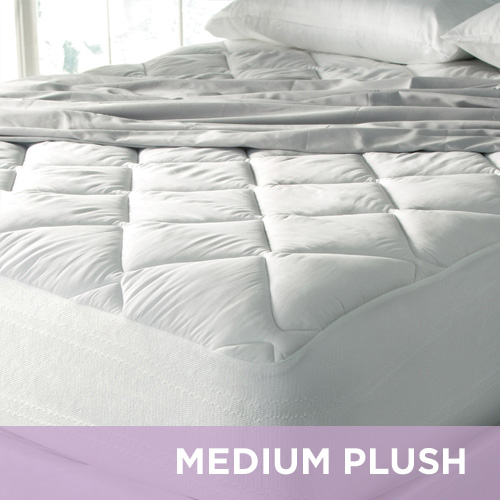 Eddie Bauer® Medium Plush 400 TC Premium Cotton Mattress Pad