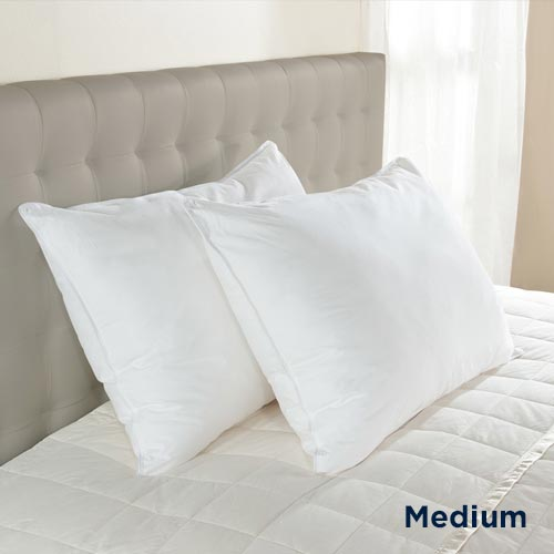Downlite Medium Density 230 TC EnviroLoft® AAFA Certified Down Alternative Pillow
