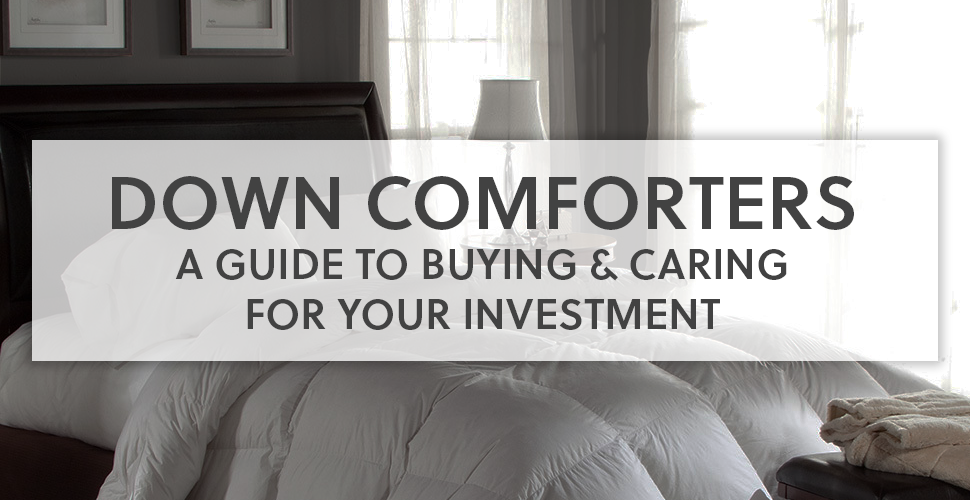 Down Comforter Guide Downlite Bedding