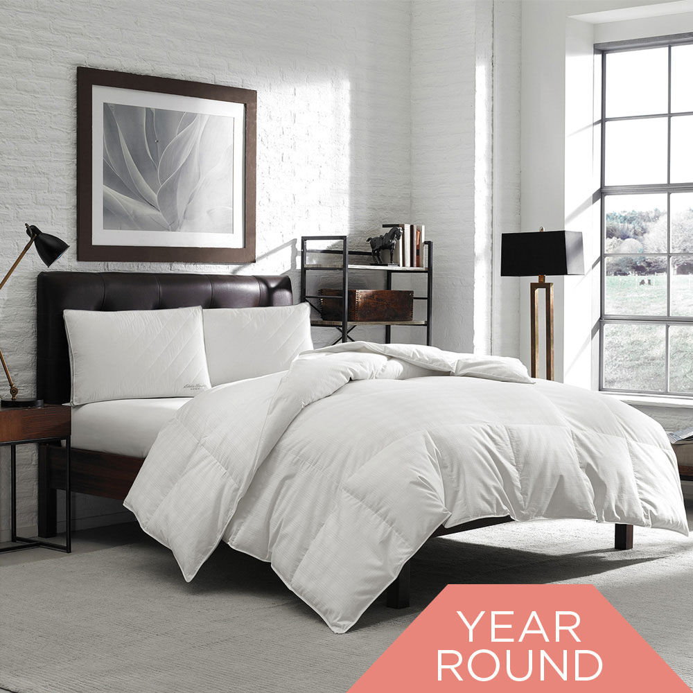 Eddie Bauer® 650 Fill Power Year Round Oversized Comforter