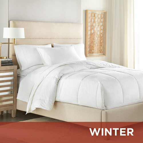 Winter Weight 230 TC Polyester & TENCEL Hotel Style Comforter