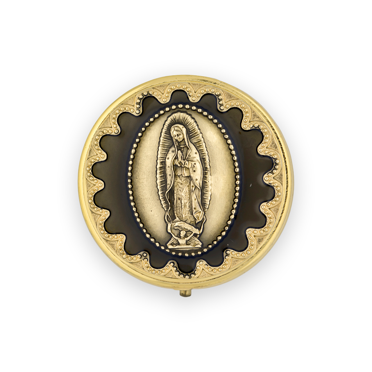 Our Lady of Guadalupe Pyx (Gold)