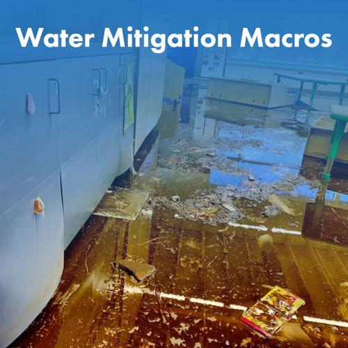 Water Mitigation Macros