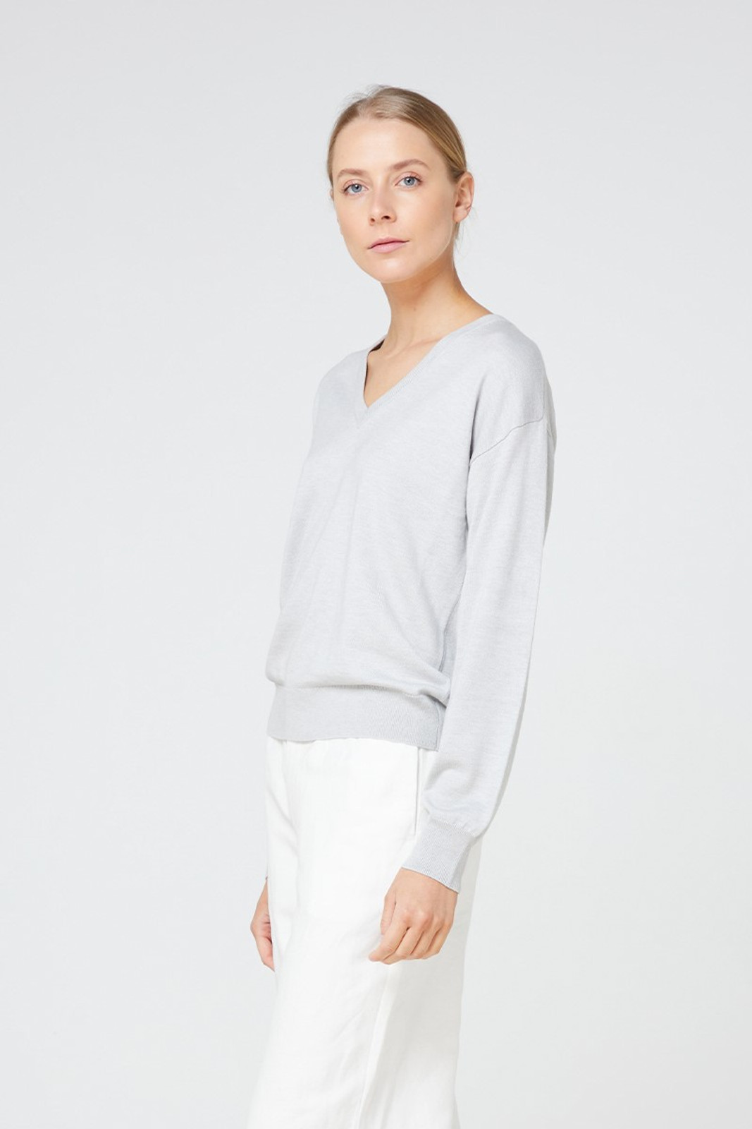 Elka Collective Isola Knit Blue  1