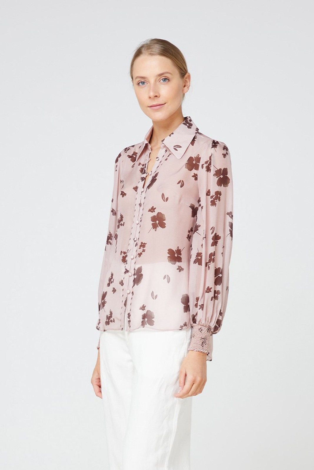 Elka Collective Portofino Shirt Pink  2
