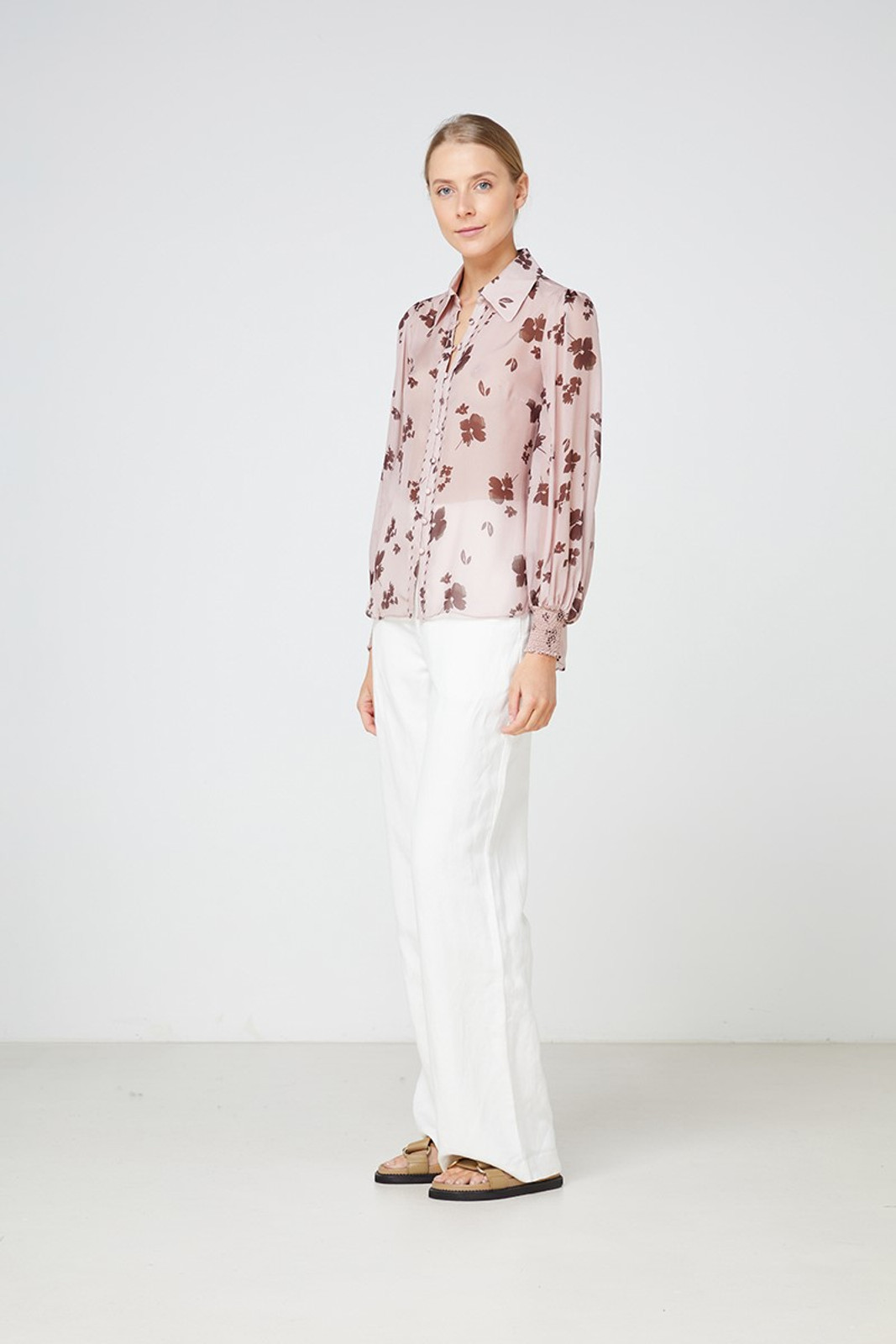 Elka Collective Portofino Shirt Pink  3