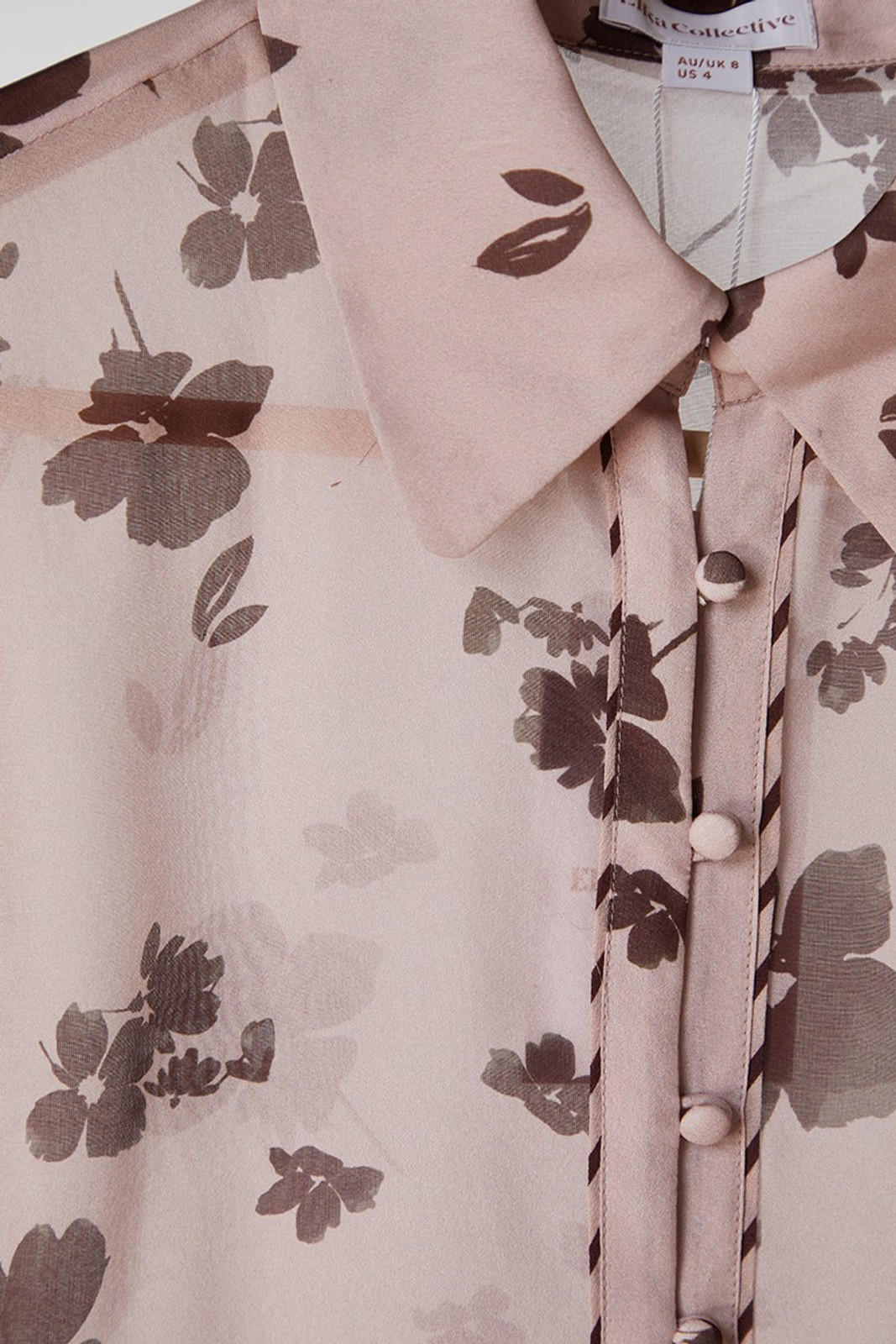 Elka Collective Portofino Shirt Pink  5