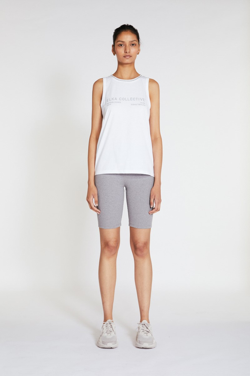 Elka Collective Racer Tank White  2