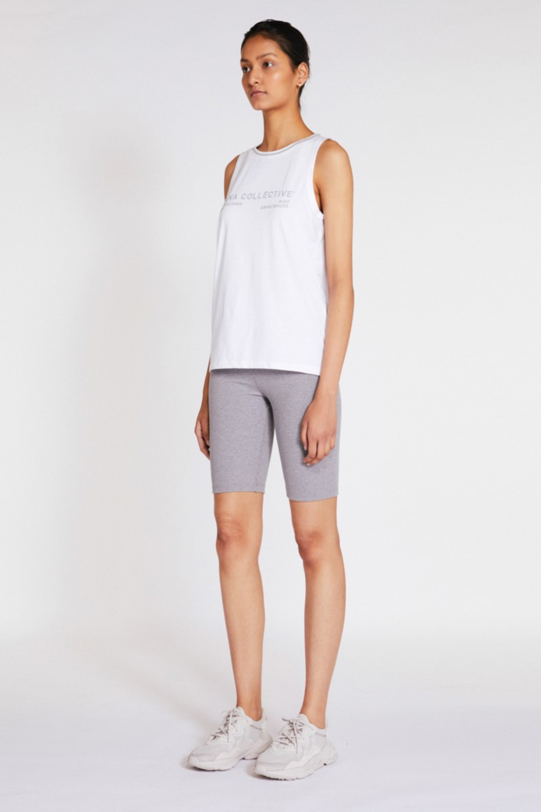 Elka Collective Racer Tank White  0