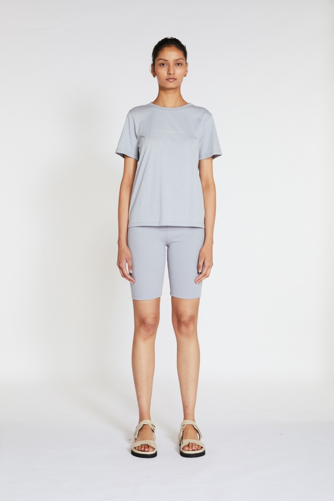 Elka Collective Trademark Tee Blue  1