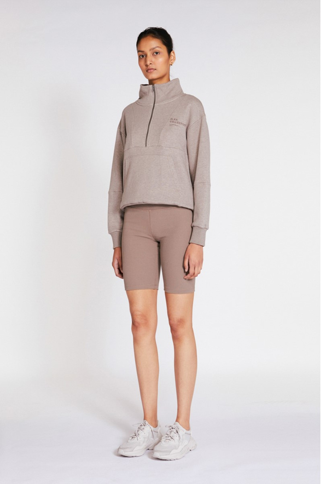 Elka Collective Mindful Sweater Neutrals  2