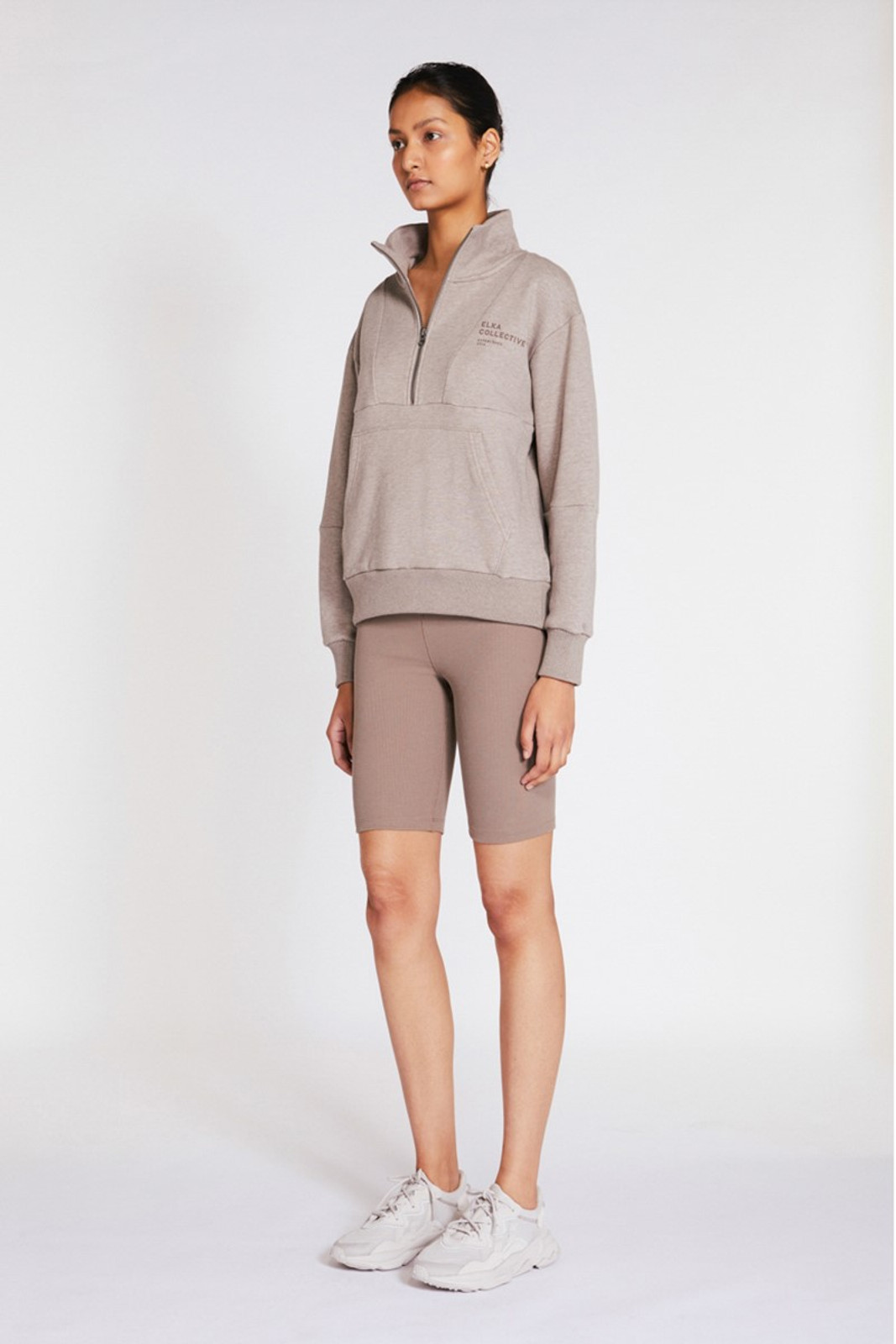 Elka Collective Mindful Sweater Neutrals  3