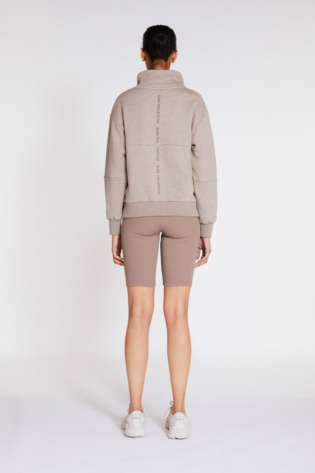 Elka Collective Mindful Sweater Neutrals  4