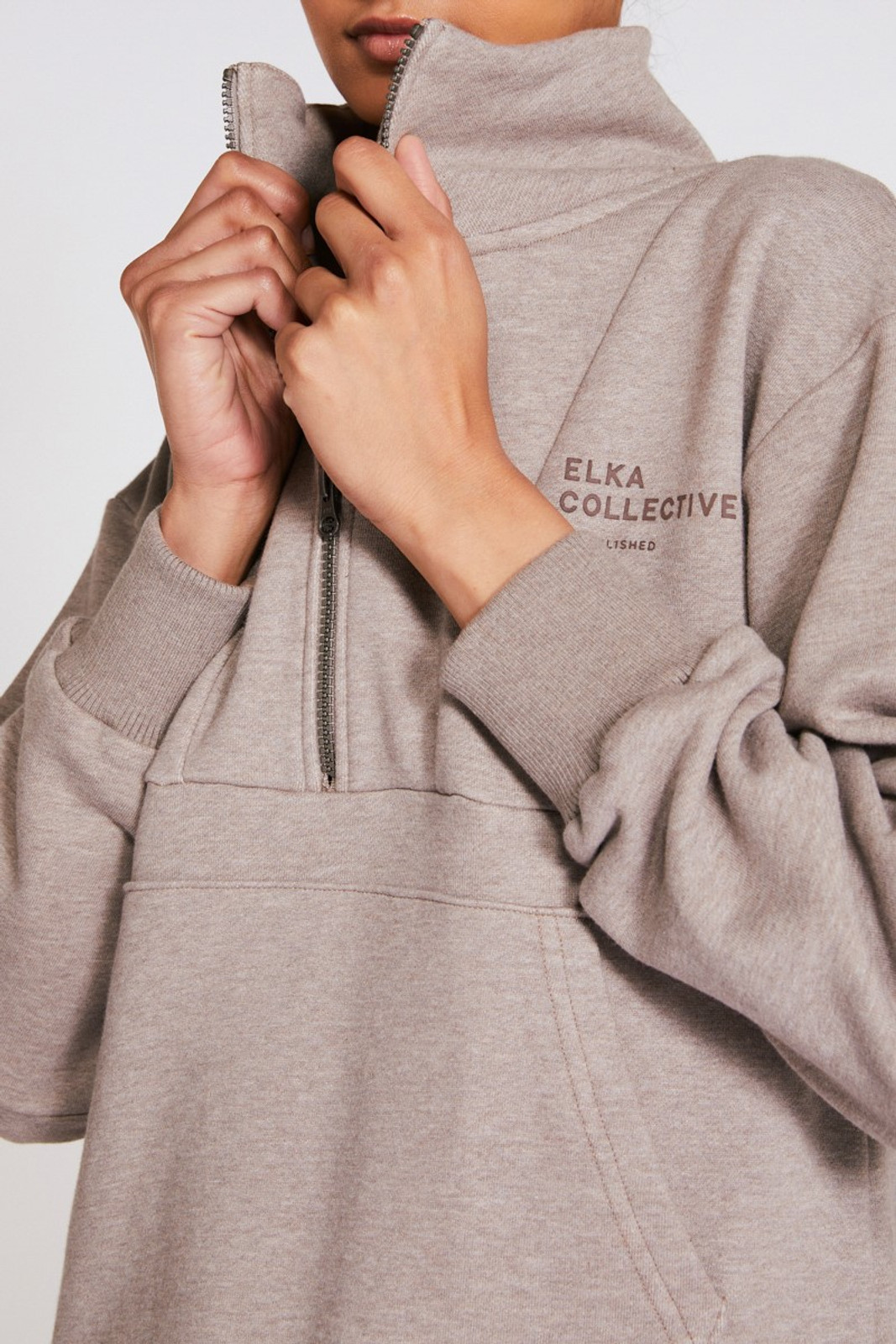 Elka Collective Mindful Sweater Neutrals  5