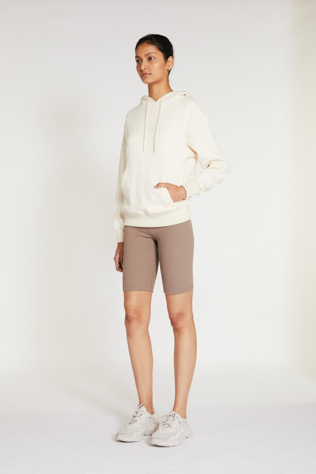 Elka Collective Racer Ribbed Short Neutrals  5
