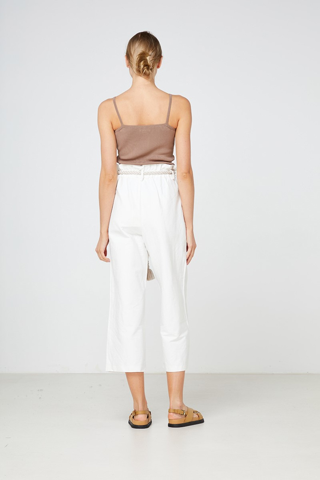 Elka Collective Arden Pant White  4