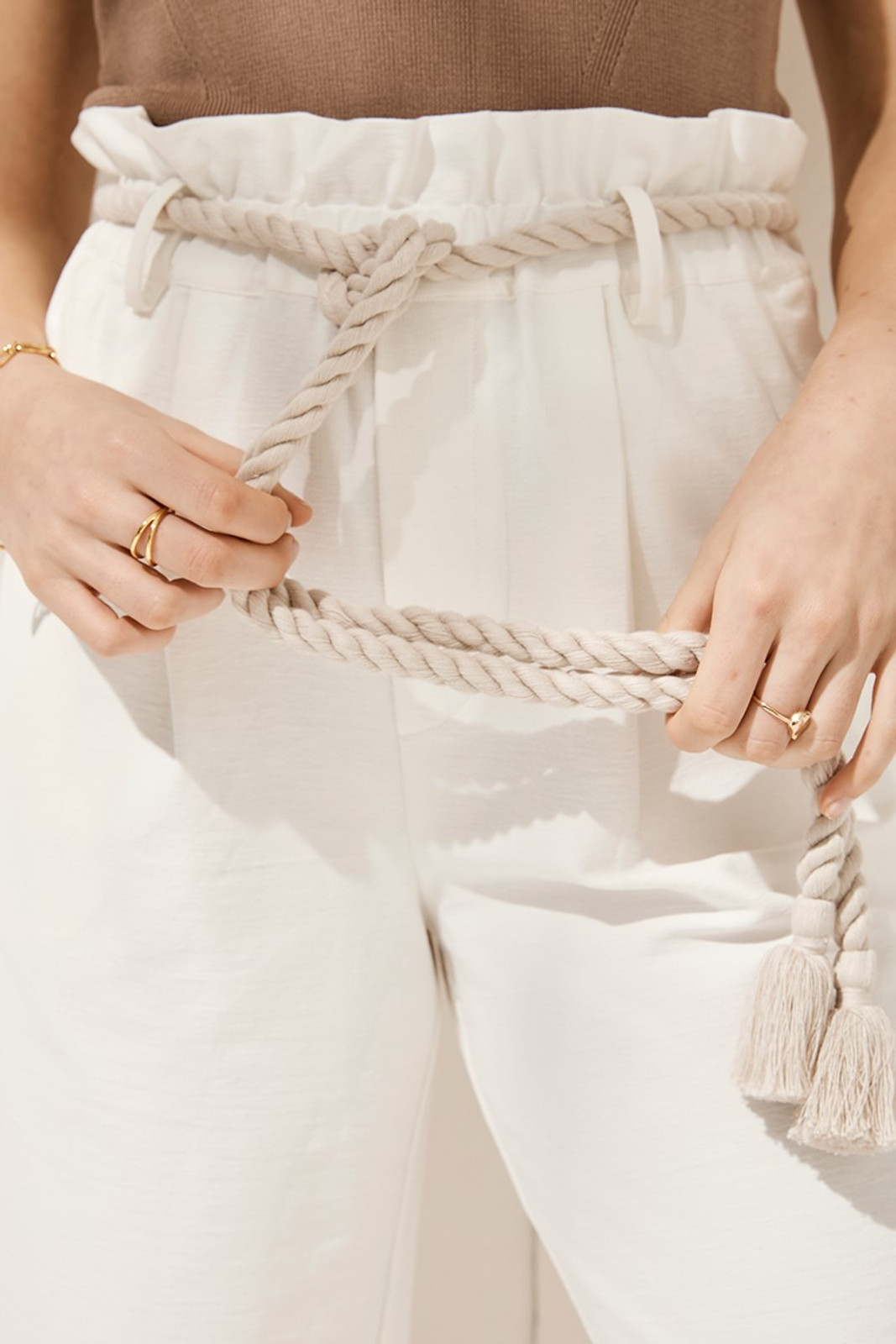 Elka Collective Arden Pant White  6
