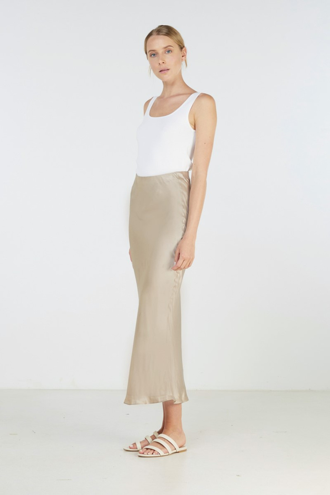Elka Collective Sublime Skirt Neutrals  0
