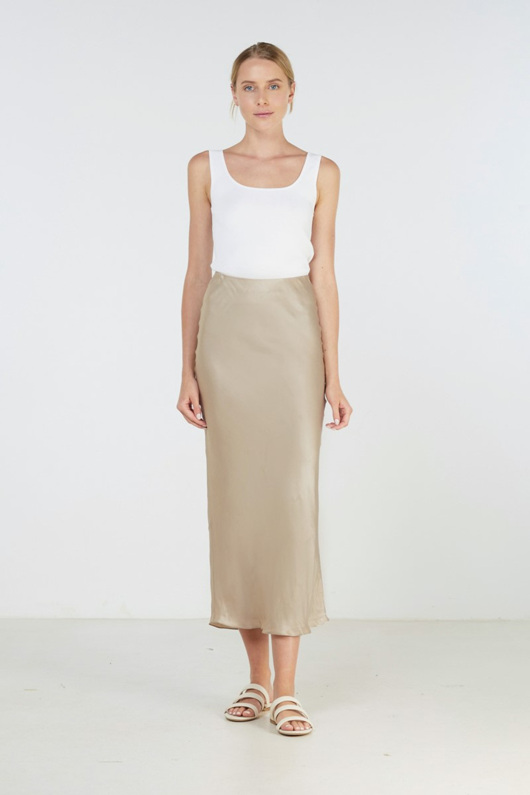 Elka Collective Sublime Skirt Neutrals  2