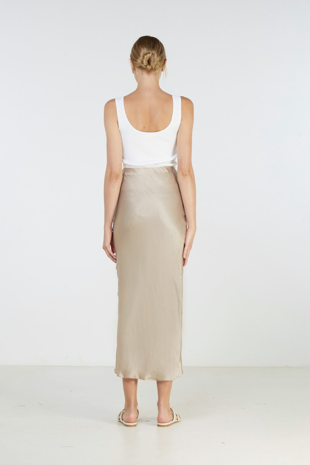 Elka Collective Sublime Skirt Neutrals  3