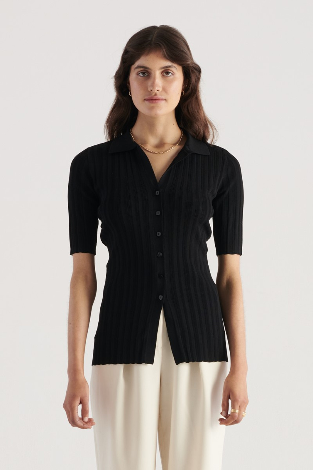 Elka Collective WOMENS Black Melody Knit 0