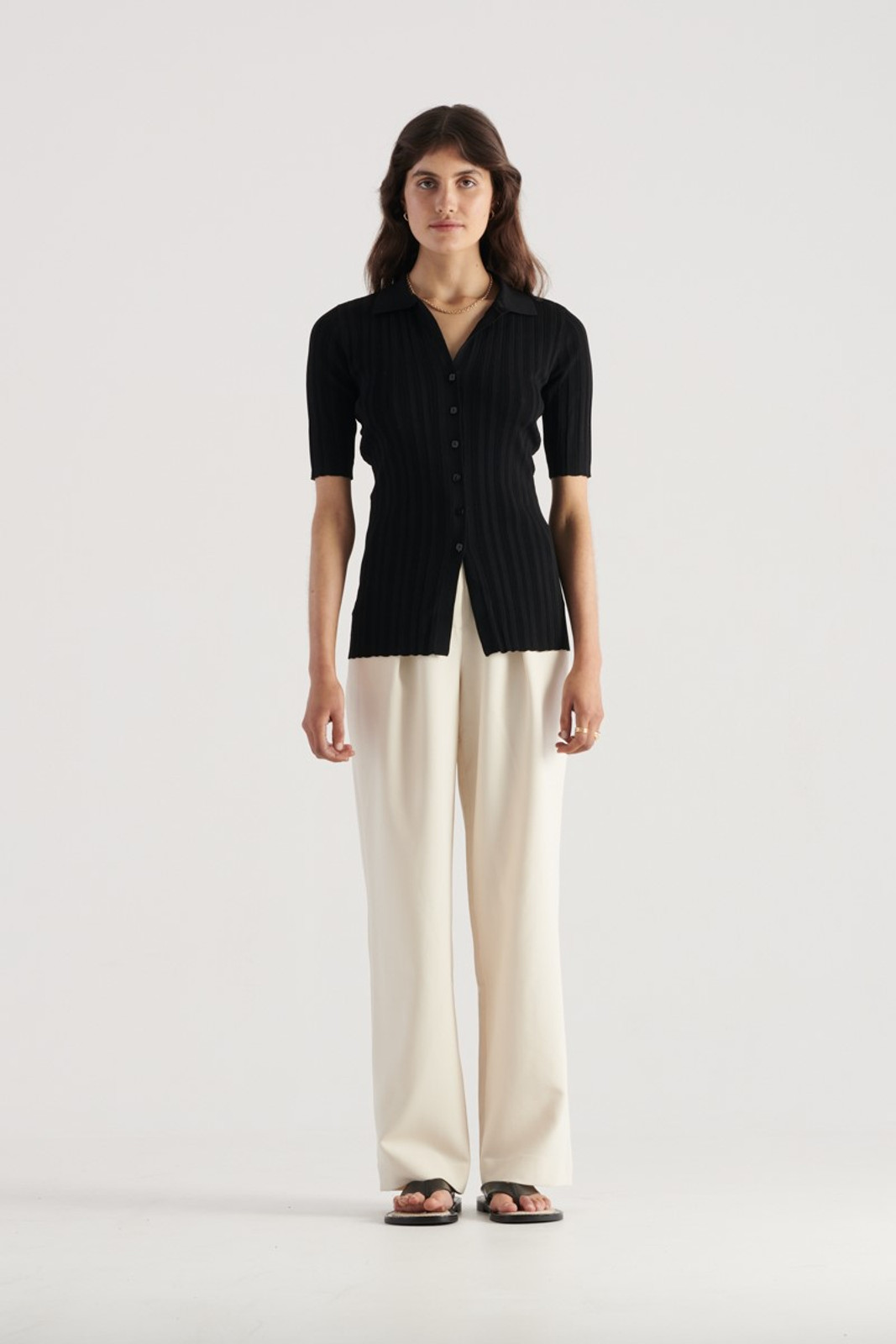 Elka Collective Melody Knit Black  2