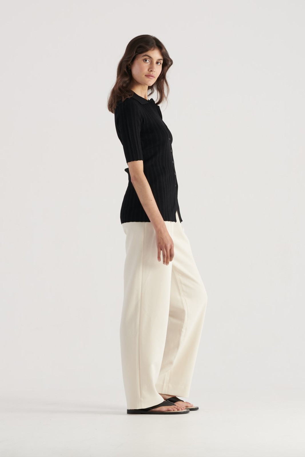 Elka Collective Melody Knit Black  4