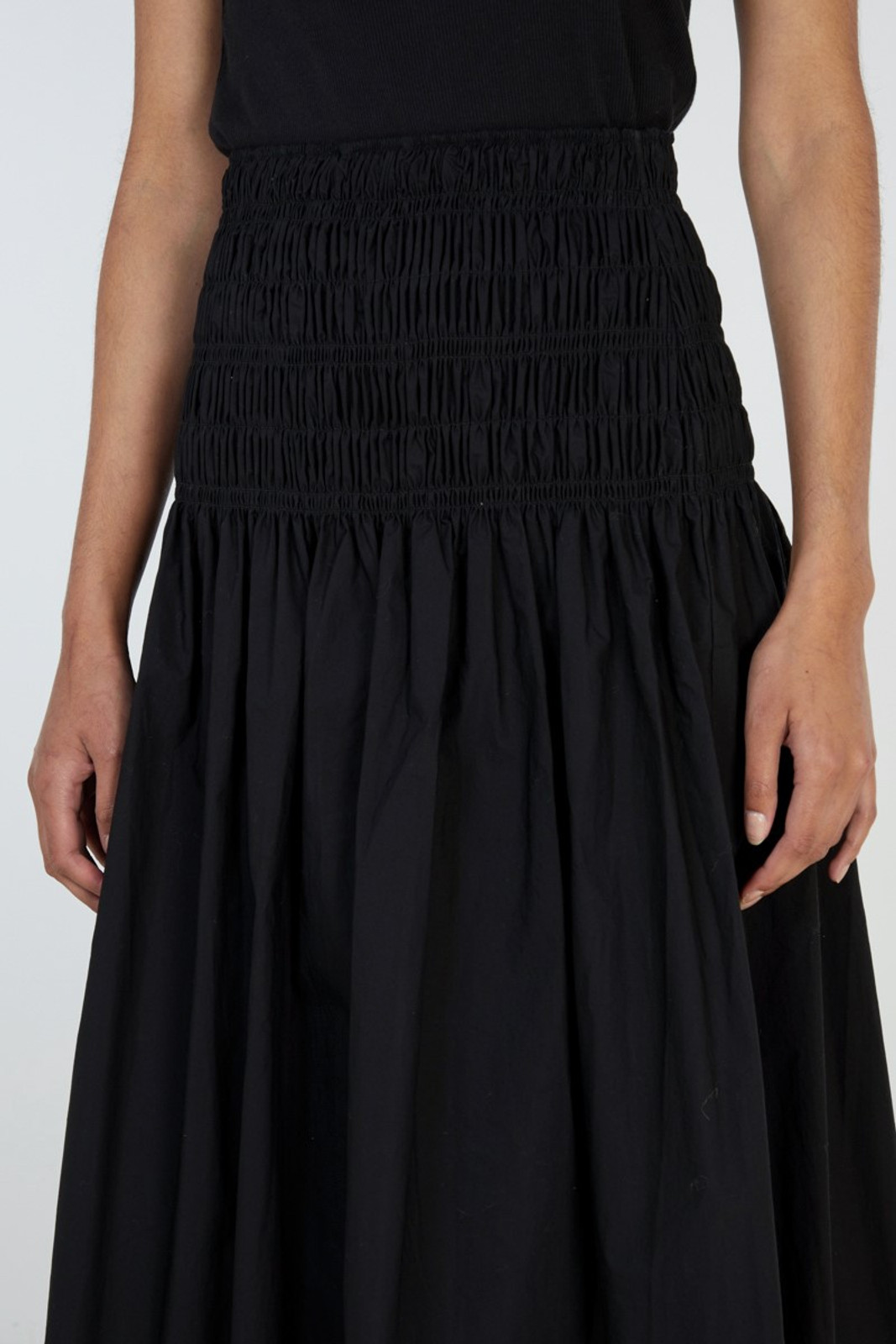Elka Collective Theory Skirt Black  4