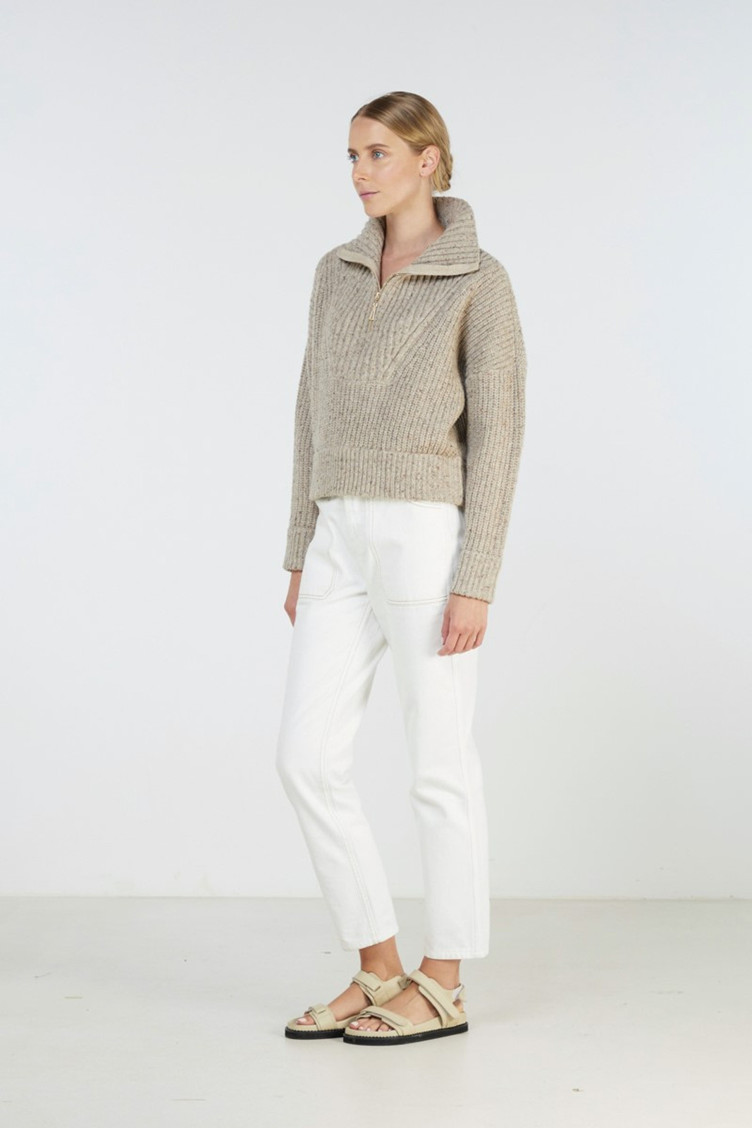 Elka Collective Covey Knit Neutrals  2