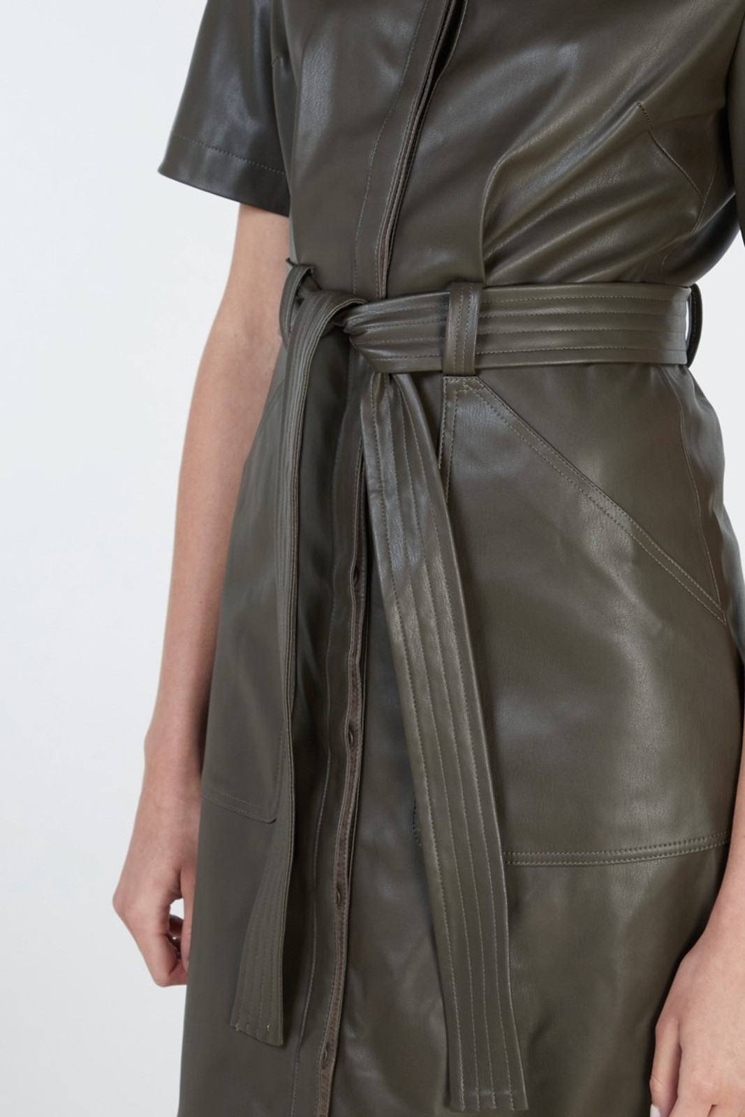 Elka Collective Reflection Dress Green  3