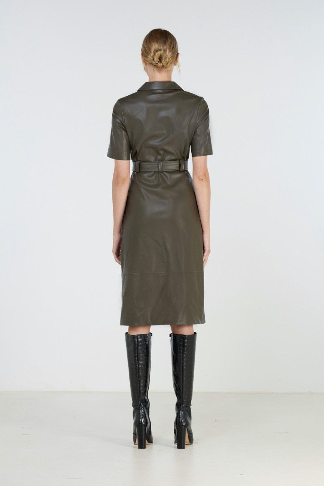 Elka Collective Reflection Dress Green  4