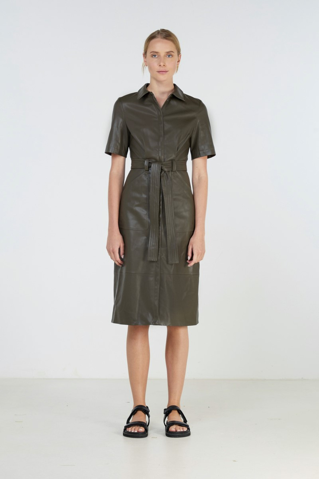 Elka Collective Reflection Dress Green  5