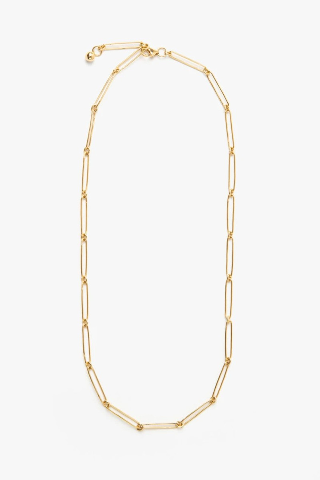 Elka Collective Womens Gold Flash Vermouth Chain Necklace 0