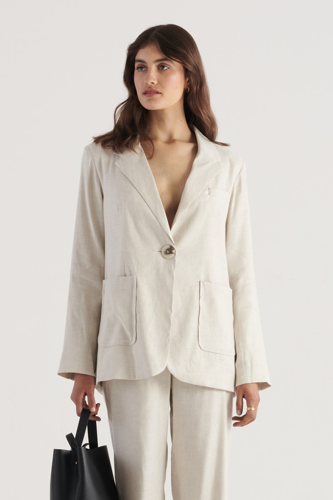Elka Collective WOMENS Neutrals Cate Jacket 0