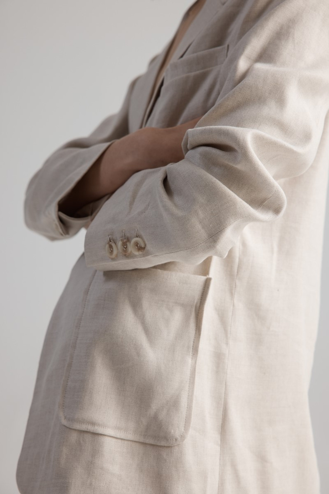 Elka Collective WOMENS Neutrals Cate Jacket 2