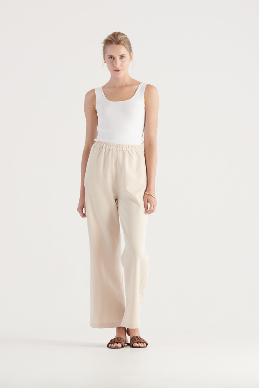 Elka Collective WOMENS Neutrals Olympia Pant 1