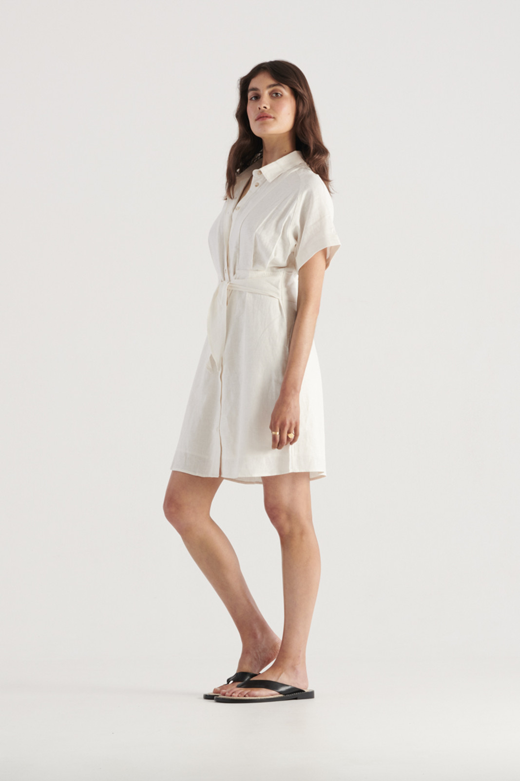 Elka Collective Womens White Times Dress 1