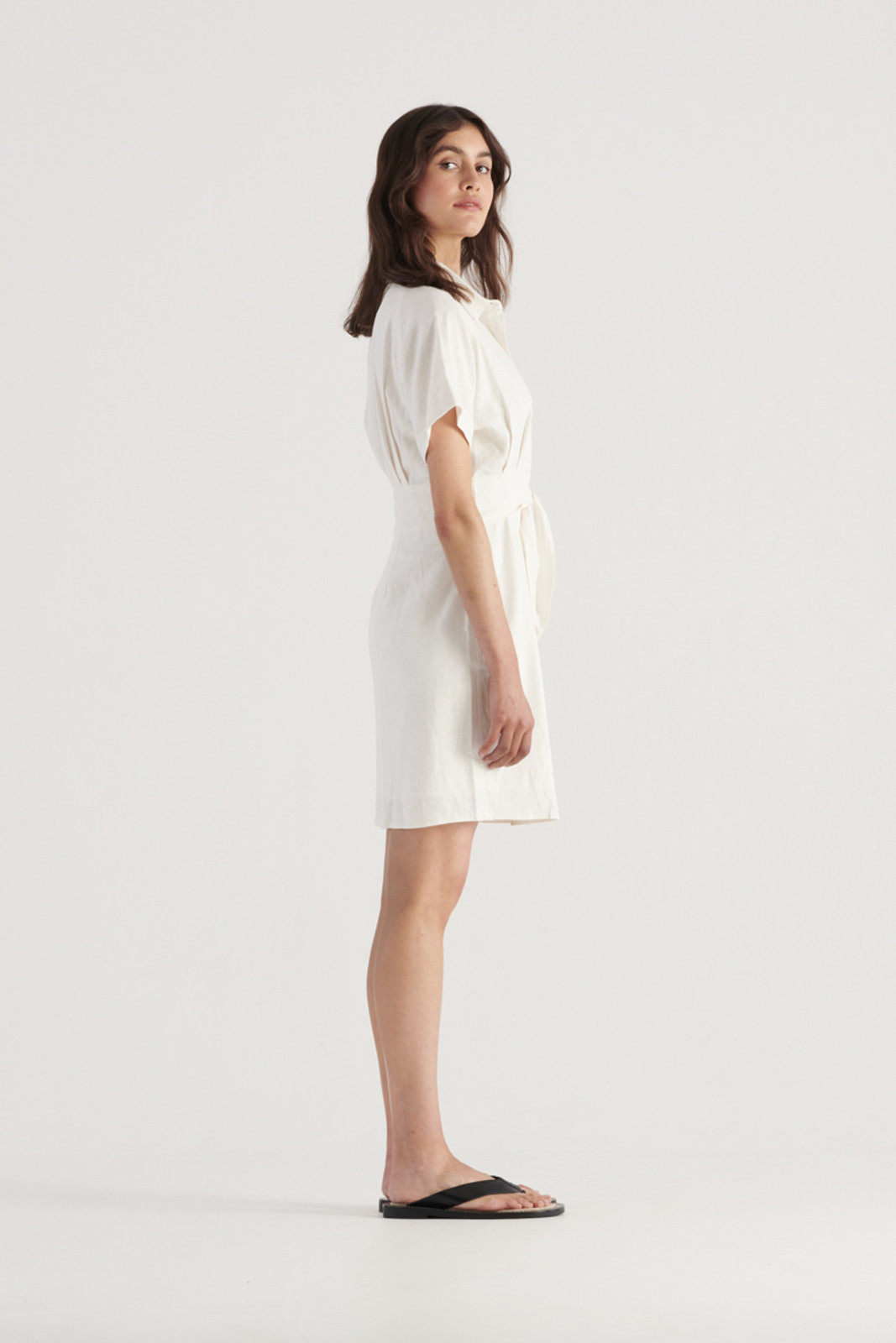 Elka Collective Womens White Times Dress 3