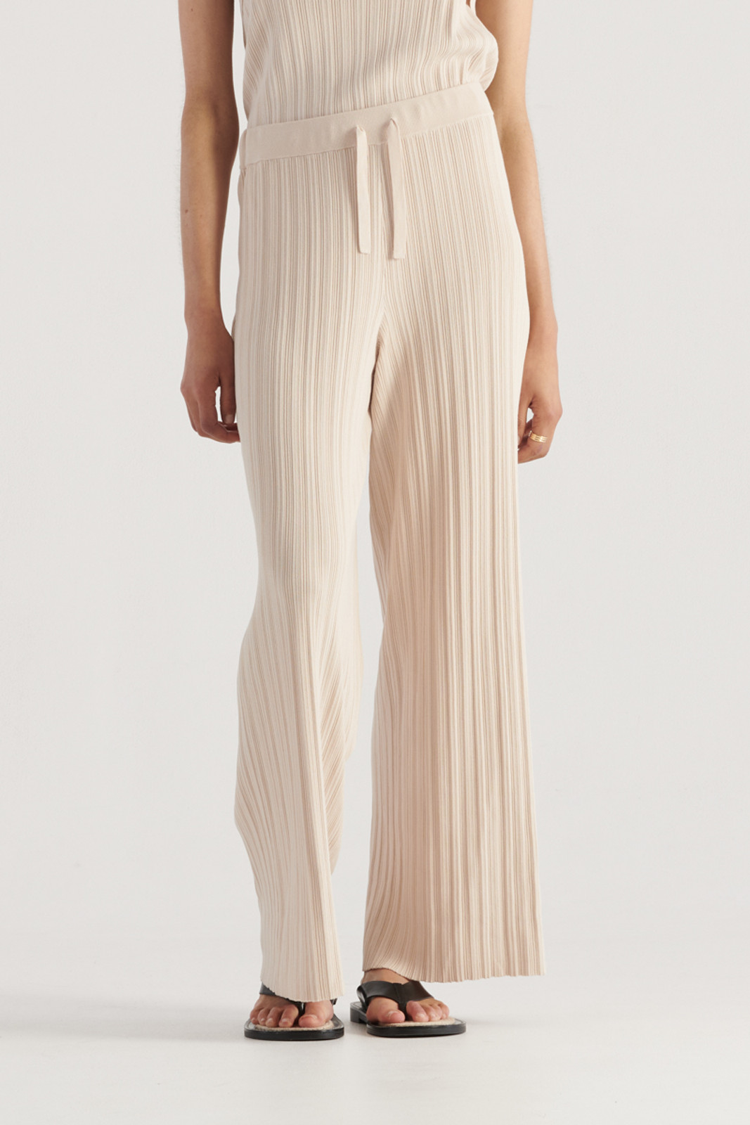 Elka Collective WomensPalma Knit Pant Biscuit  0