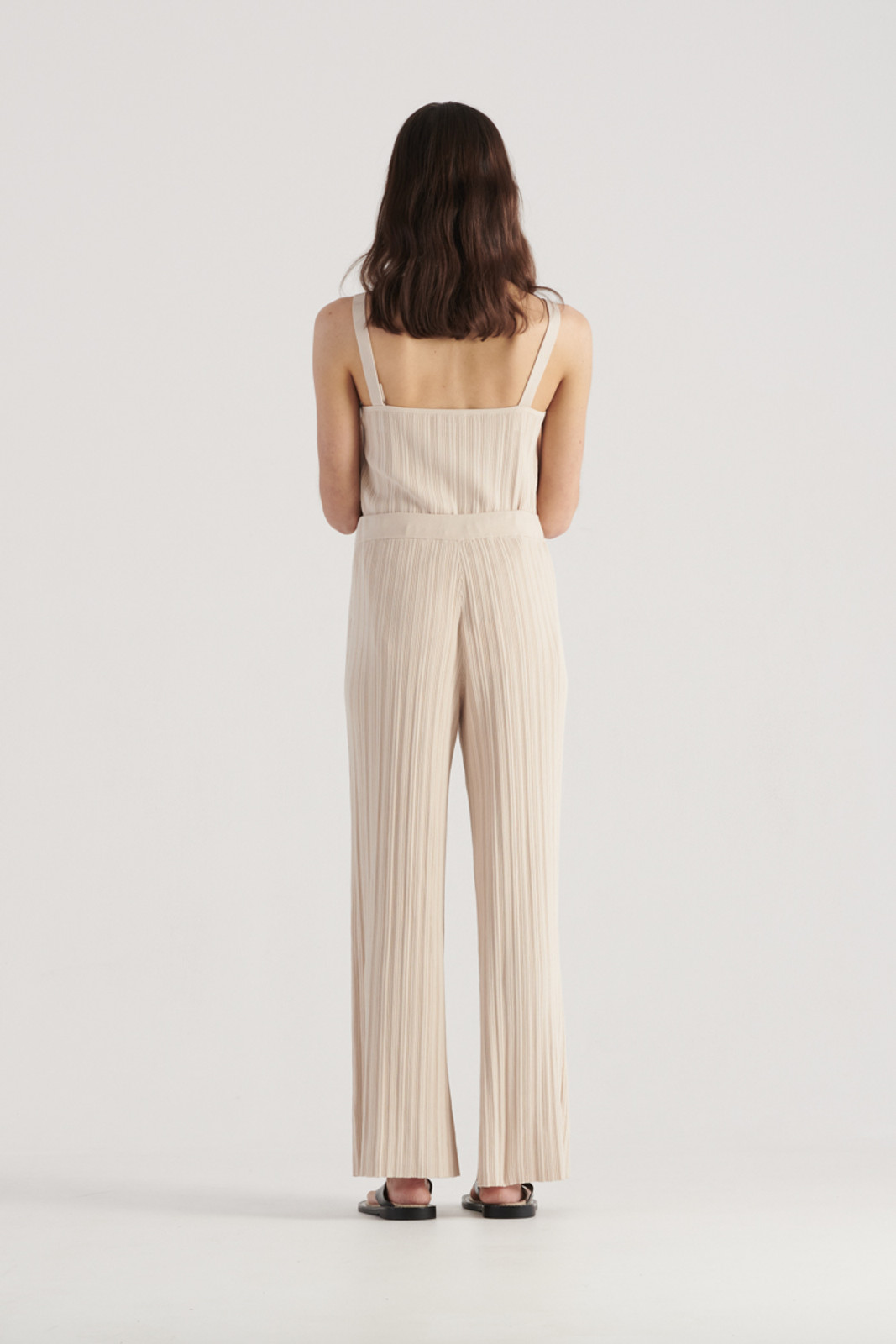 Elka Collective WomensPalma Knit Pant Biscuit  4