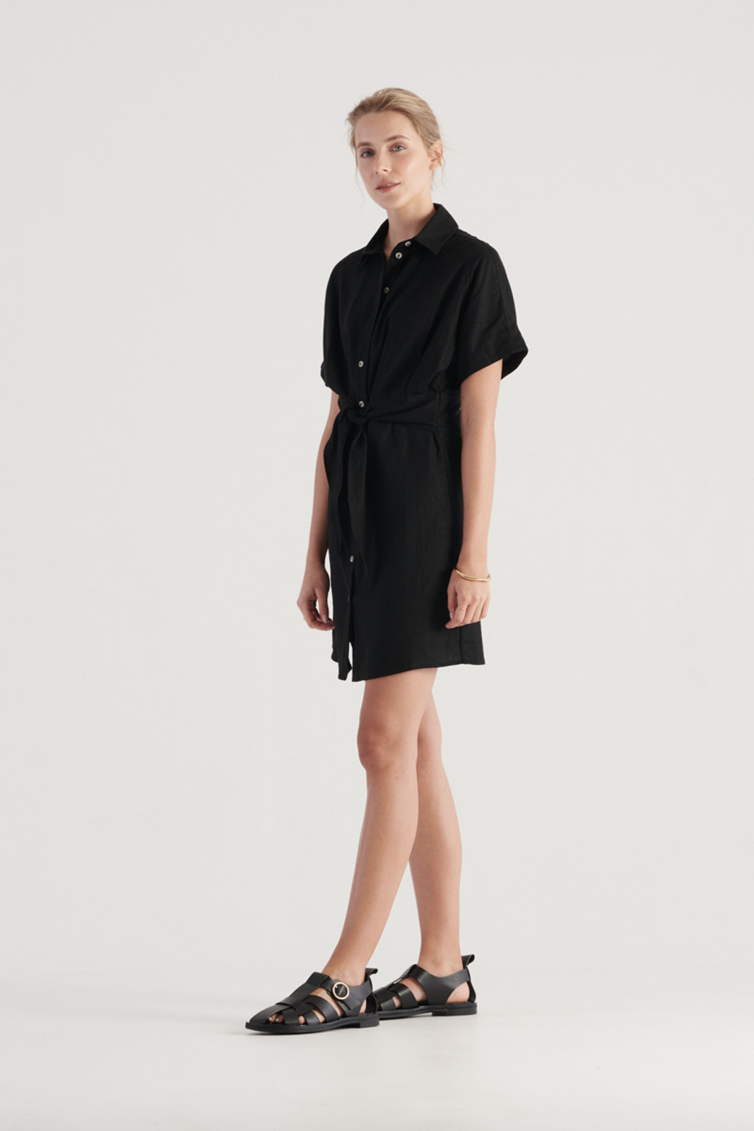 Elka Collective Womens Black Times Dress 1